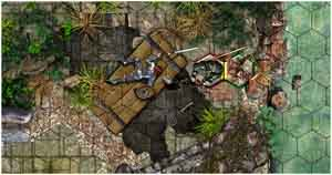 "Battlegrounds: RPG Edition (or BRPG, for short) is an online virtual tabletop for use with any ""pen and paper"" roleplaying game system. It's a multi-platform software tool that breaks down geographical barriers by letting you play your favorite RPG with friends who live far away.