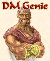 DM Genie is a computer program for players and game masters running the Third Edition or the new Revision 3.5 of the world's most popular tabletop role playing game. DM Genie can also be customized to any game system that is based on 20-sided dice. Using DM Genie, you can create an adventure in dark dungeons filled with monsters and treasure. You can manage your characters, and keep track of anything that happens to them.